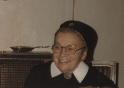 Das letzte, Foto das von der aus Dörlinbach stammenden Ordensfrau Schwester Maria Schätzle in Argentinien gemacht wurde
