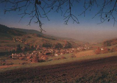 Herbststimmung im Schuttertal mit Blick auf Dörlinbach.