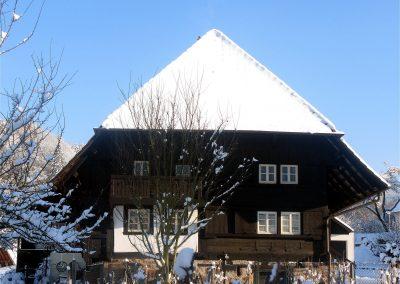 Winterimpressionen aus dem Jahre 2010: S'Moritze - Engelhof.
