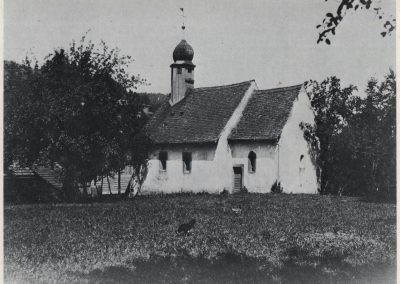 Im Jahre 1132 wurde die Kapelle zur Heiligen Dreifaltigkeit eingeweiht.