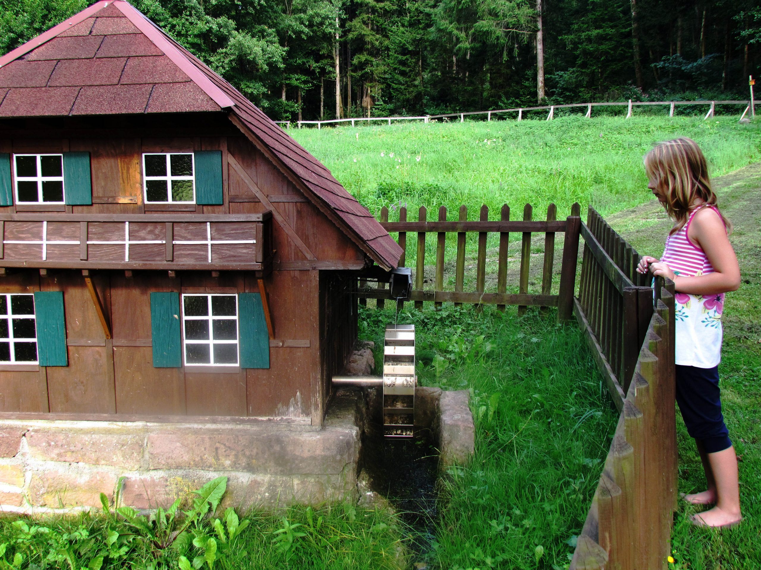 Impressionen von der Freizeitanlage Prinschbachhütte vom August 2013: