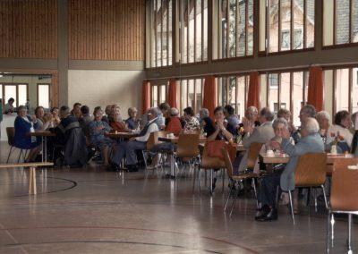 Eindrücke vom Seniorennachmittag im Mai 1998 in der Turn- und Festhalle.