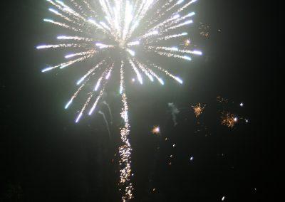 Feuerwerk zum Jahreswechsel.