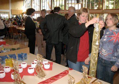 Impressionen vom 37. Dörlinbacher Missionsbasar am 2. Dezember 2006 in der Turn- und Festhalle. Der Erlös betrug rund 11000 Euro.