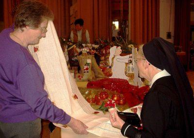1. Adventsonntag 2008: Schwester Renatis war immer ein gern gesehener Gast bei den Dörlinbacher Missionsbasaren.