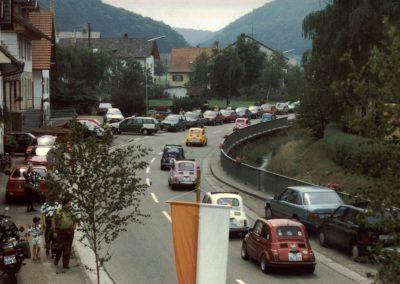 """Im Juli 1992 feierte der Radfahrverein """"Schutterbund"""" sein 85-jähriges Besten mit einem Festumzug"""