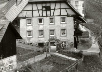 Schwarz-Weiß-Impressionen aus dem Frühjahr 1988: Kasper's im Dobel.