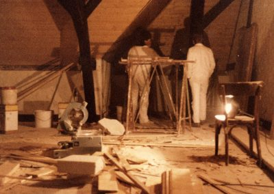 Die Bremsdorfer Narrenzunft konnte sich im Dachgeschoss der Alten Schule eine eigene Bleibe einrichten.