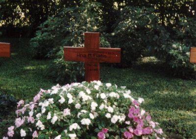Abschied: Die letzte Ruhestätte der gebürtigen Dörlinbacherin Sr. Maria Fiatis Schätzle auf dem Schwesternfriedhof in Florencio Varela,