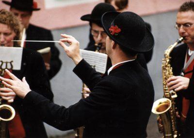 Erstkommunion in Dörlinbach. Immer ein Pflichttermin für den Musikverein. Hier ein paar Impressionen aus April 1999.