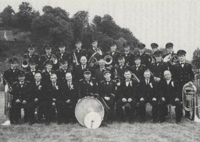 Musikverein im Jahre 1958.