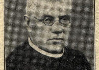 Pfarrer Andreas Halter, der am 24. Juni 1938 in Schweighausen verstarb.