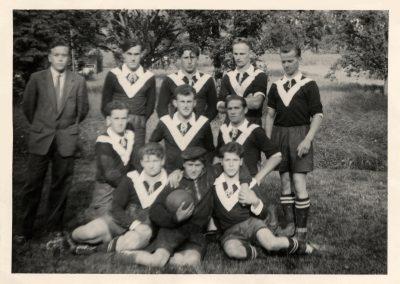 Im August 1949 wurde der Sportverein neu gegründet. Vor dem Krieg von 1931 bis 1937 waren die Fußball begeisterten jungen Männer noch als DJK Dörlinbach aktiv.