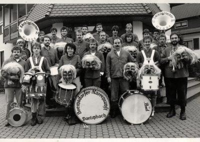 """Die """"Säcklistrecker Gugge"""" im Jahre 1989."""