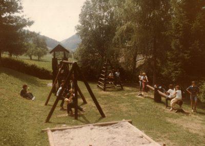 Der Herrenmatt-Spielplatz wurde zur Neuen Schule verlegt.