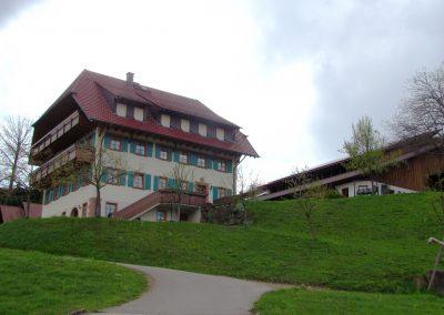 Der Wanglerhof im April 2021.