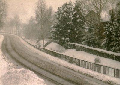 Winter-Impressionen vom Januar 1999.