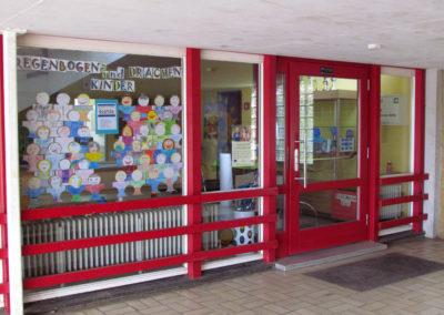Eingangshalle Grundschule Dörlinbach 2021