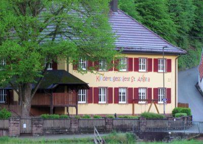 Die Kindertagesstätte St. Angela im Mai 2021.