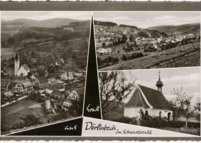 Postkartenansichten aus den 1960er-Jahren.