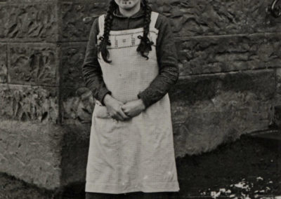 Erinnerung an die Schulzeit: Entlassschülerin Theresia Stöhr im Jahre 1938.