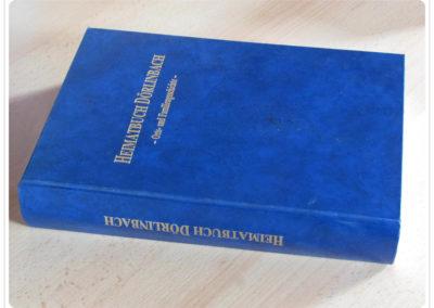 Literatur zu Dörlinbach: Heimatbuch Dörlinbach, Orts- und Familiengeschichte, Gerhard Finkbeiner und Klaus Siefert, erschienen 1995, 848 Seiten.