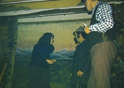 """Die Feuerwehr präsentiert an Dreikönig 1973 auf der """"Engel""""-Bühne das Lustspiel """"Otto geht zur Feuerwehr"""" von Wladislaw Pannek."""