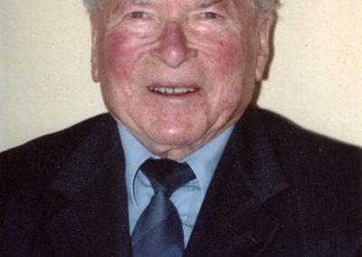Alt-Bürgermeister Josef Billharz im Mai 2001..