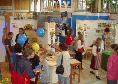 Gewerbeschau im Juni 2004 in der Dörlinbacher Turn- und Festhalle.