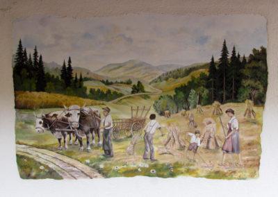 Wandgemälde von Hans Busch – Dobel – Oktober 1991.