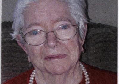 Elsa Fischer geb. Bildstein (1929 bis 2019) betreute zusammen mit ihrem Mann Joseph Fischer (1931 bis 2020) über Jahrzehnte hinweg die Dörlinbacher Miniaturgolfanlage.