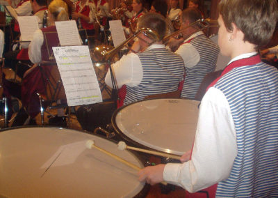 Impressionen vom Erntedankfest des Dörlinbacher Musikvereins im Oktober 2003.