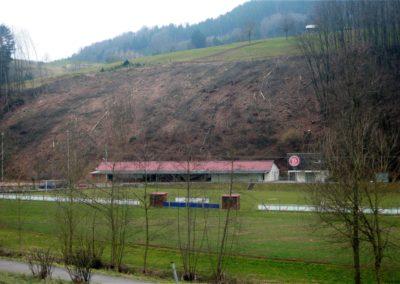 Im März 2011 wurde fast der komplette Schluchwald oberhalb des Sportheims und der Tennisanlage abgeholzt. Inzwischen wächst dort ein neuer junger Schluchwald heran.